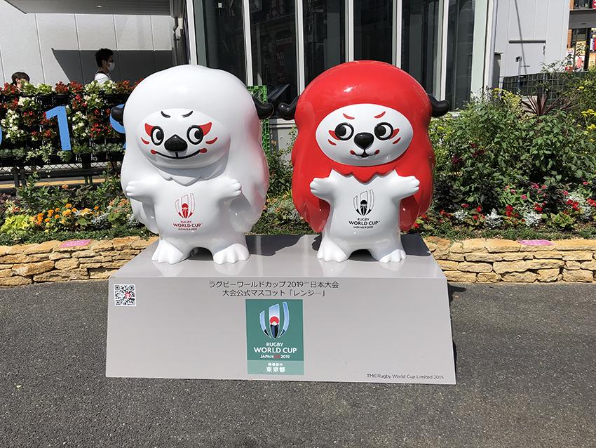 日本大会公式マスコット「レンジ―」