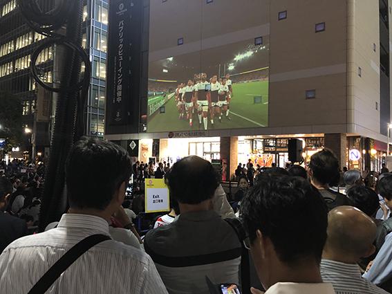 日本代表入場の瞬間!